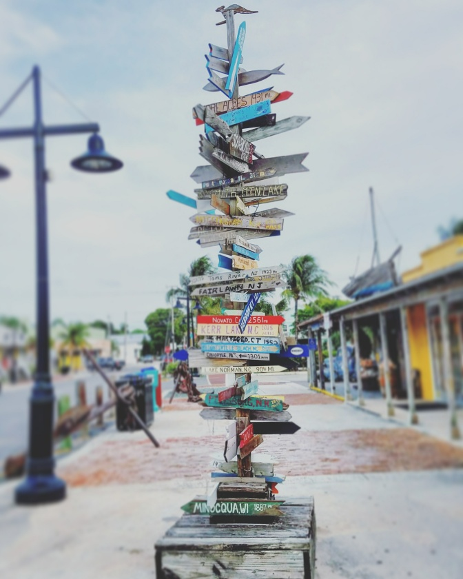 Directional Sign, Key West Seaport